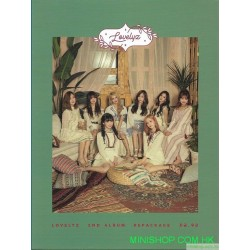 Lovelyz  2nd Album Repackage 韓版