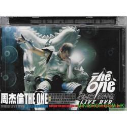 周杰倫 THE ONE 演唱會LIVE (DVD)