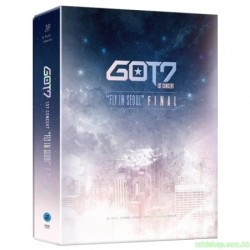 "GOT7 - GOT7 1ST CONCERT ""FLY IN SEOUL"" FINAL 3DVD 韓版"