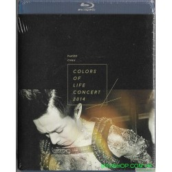 周柏豪 Colors Of Life Concert 2014 Blu-ray