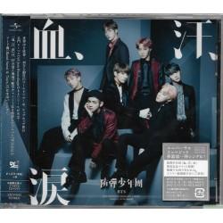 BTS 防彈少年團 血、汗、涙 [TYPE A] (SINGLE+DVD) (日版初回限定版)(日本版)