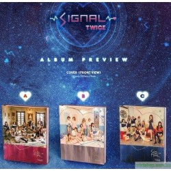 TWICE - SIGNAL (4TH MINI ALBUM)韓版