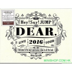 Hey! Say! JUMP LIVE TOUR 2016 DEAR.[DVD] 日版