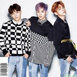 EXO-CBX 【EXO-L-JAPAN限定盤特典:手環】GIRLS ※黑膠尺寸限定盤/数量限定※