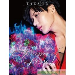 TAEMIN泰民(SHINEE) 2nd Mini Album「Flame of Love」初回限定盤(CD+DVD)
