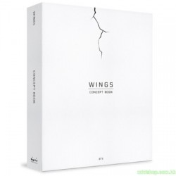 BTS WINGS CONCEPT BOOK