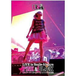 LiSA LiVE is Smile Always~PiNK&BLACK~in日本武道館之「草莓甜甜圈」DVD