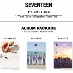 SEVENTEEN - AL1 (4TH MINI ALBUM) 韓版