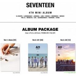 SEVENTEEN - AL1 (4TH MINI ALBUM) 韓版