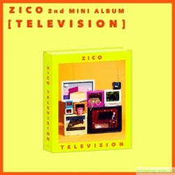 ZICO - TELEVISION (2ND MINI ALBUM) 韓版