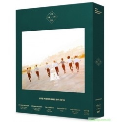 BTS [BTS MEMORIES OF 2016] DVD + PHOTOBOOK