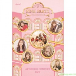 APINK 3RD CONCERT PINK PARTY (2 DVD)韓版
