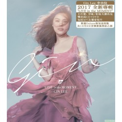 Gin Lee李幸倪 Live In The Moment (CD+DVD)