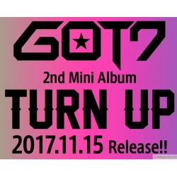 GOT7 TURN UP 日版