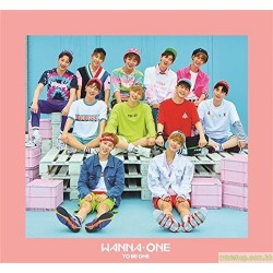 日版 WANNA ONE「1×1 1(TO BE ONE)」(Pink Ver.)-JAPAN EDITION-(CD+DVD)