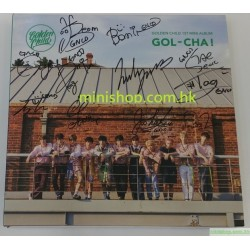 GOLDEN CHILD - GOL-CHA! (1ST MINI ALBUM) 親筆簽名版