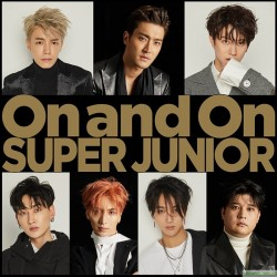[代購]SUPER JUNIOR 日本 會員限定版「On and On」