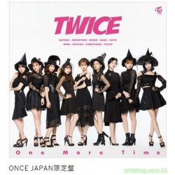TWICE JAPAN 1st SINGLE[One More Time] 会員限定版