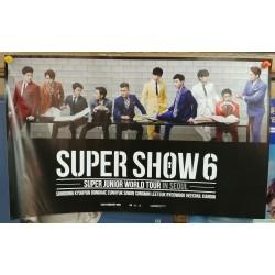 SUPER SHOW 6 海報