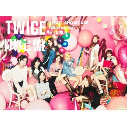 "TWICE 限定盤 DVD  DEBUT SHOWCASE ""Touchdown in JAPAN"""
