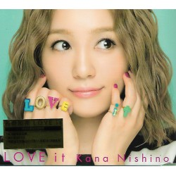 西野加奈 Kana Nishino   LOVE it (CD+DVD) 港版