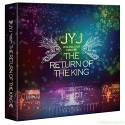 2014 JYJ ASIA TOUR CONCERT THE RETURN OF THE KING DVD 韓版