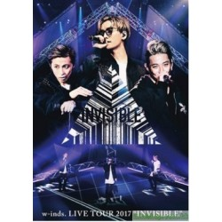"w-inds.LIVE TOUR 2017 ""INVISIBLE""2DVD 台版"