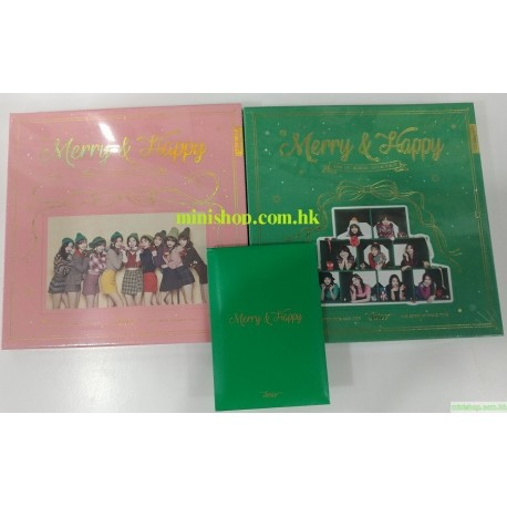 TWICE  1st album repackage [Merry & Happy]
