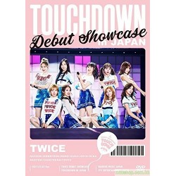 "TWICE 通常盤 DVD DEBUT SHOWCASE ""Touchdown in JAPAN"""