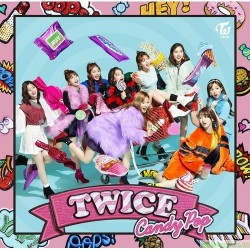 会員限定商品 TWICE JAPAN 2nd SINGLE「Candy Pop」 《ONCE JAPAN限定盤》