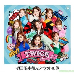 TWICE  JAPAN 2nd SINGLE『Candy Pop』日版