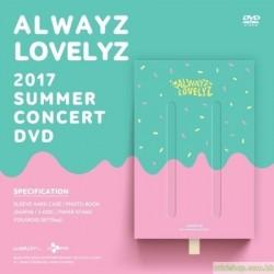 LOVELYZ - LOVELYZ 2017 SUMMER CONCERT ALWAYZ DVD