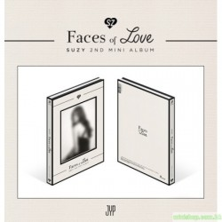 SUZY秀智 - FACES OF LOVE (2ND MINI ALBUM)