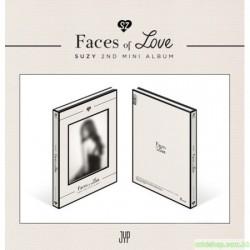 SUZY秀智 - FACES OF LOVE (2ND MINI ALBUM)
