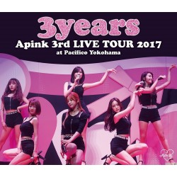Blu-ray Apink 3rd Japan TOUR 〜3years〜 at Pacifico Yokohama