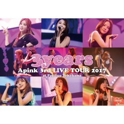 DVD Apink 3rd Japan TOUR 〜3years〜 at Pacifico Yokohama