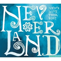 [台版]NEWS LIVE TOUR 2017 NEVERLAND 【台壓版初回限定盤】(4DVD)