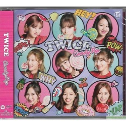 TWICE JAPAN 2nd SINGLE『Candy Pop』日版 通常盤
