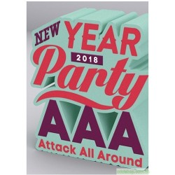 AAA NEW YEAR PARTY 2018(DVD)(Blu-ray Disc)
