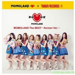 MOMOLAND  The BEST ~Korean Ver.~ [CD+DVD]<タワーレコード限定>