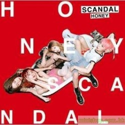 SCANDAL  Honey CD+DVD 港版