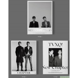 TVXQ!VOL.8 NEW CHAPTER 1  THE CHANCE OF LOVE