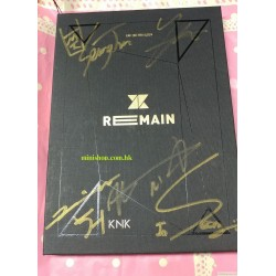KNK - REMAIN (2ND MINI ALBUM)韓版