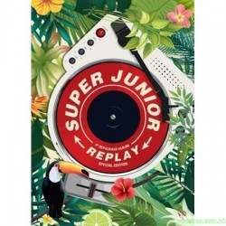 SUPER JUNIOR 8th Repackage Album [REPLAY] 韓版(特別版)
