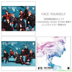 BTS New Album『FACE YOURSELF』 日版