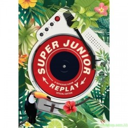 Super Junior - Album Vol.8 Repackage [REPLAY] (Kihno Album)智能卡