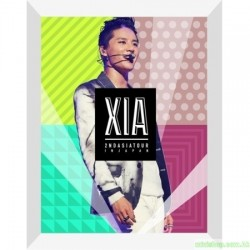 XIA 2ND ASIA TOUR CONCERT INCREDIBLE IN JAPAN DVD 韓版