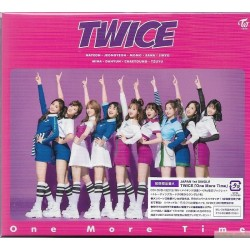 TWICE One More Time [初回限定盤A, CD+DVD]