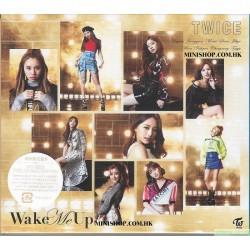 TWICE Wake Me Up Wake Me Up [初回限定盤B, CD+DVD]