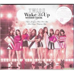 TWICE Wake Me Up Wake Me Up [初回限定盤A, CD+DVD]